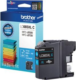 Картридж BROTHER LC665XLC голубой