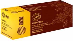 Картридж CACTUS CSP-C728 PREMIUM, черный