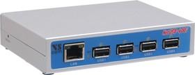 NetUSB-400i, 4-портовый коммуникационный сервер USB в Ethernet