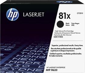 Картридж HP 81X CF281X, черный