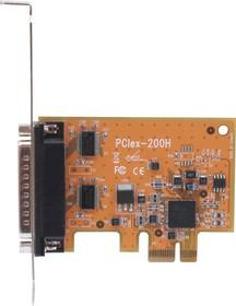 VScom 200E PCIex Low Profile, 2-портовая плата RS-232 на шину PCI Express