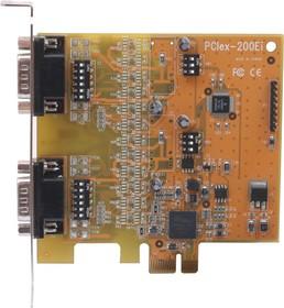 VScom 200Ei PCIex, 2-портовая плата RS-232/422/485 на шину PCI Express