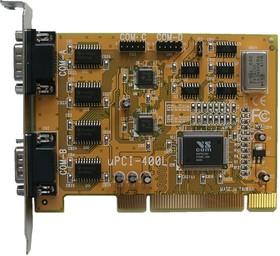 VScom 400L UPCI, 4-портовая плата RS-232 на шину UPCI