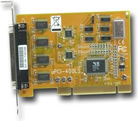 VScom 400L SP UPCI, 4-портовая плата RS-232 на шину UPCI с кабелем в комплекте