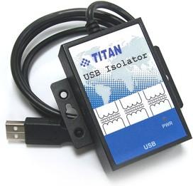 Фото 1/4 USB-ISO-M, Изолированный повторитель USB, металлический корпус (-40°С ~ +70°C)