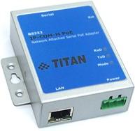 Фото 1/2 IP-COM-M PoE, Преобразователь Ethernet в RS-232 с функцией PoE