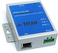 Фото 1/2 IP-COMi-M PoE, Преобразователь Ethernet в RS-232/422/485 с функцией Po