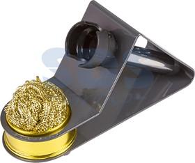 Фото 1/3 12-0309, Подставка под паяльник + стружка для очистки жала