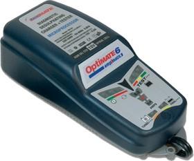 Фото 1/2 tm180 OptiMate 6, Устройство зарядное для свинцовых аккумуляторов 12В 0.4..5.0А
