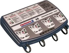 Фото 1/2 tm454 OptiMate 3х4, Устройство зарядное для свинцовых аккумуляторов 12В 4х0.8А