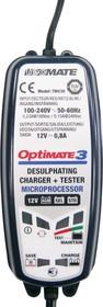 tm430 OptiMate 3, Устройство зарядное для свинцовых аккумуляторов 12В 0.8А