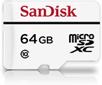 Карта памяти microSDXC SANDISK High Endurance 64 ГБ, 20 МБ/с, Class 10, SDSDQQ-064G-G46A, 1 шт., переходник SD
