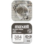 MAXELL SR41SW 384 (0%Hg), Элемент питания