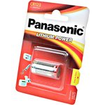 Panasonic Lithium Power CR-123AL/1BP 123A BL1, Элемент питания