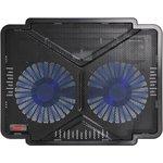 """Подставка для ноутбука Buro BU-LCP140-B214 14""""335x265x22мм 1xUSB 2x 140ммFAN ..."""