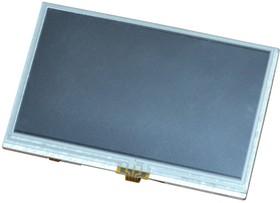 """Фото 1/2 LCD-OLinuXino-4.3TS, 4.3"""" LCD дисплей с подсветкой и резистивной сенсорной панели, совместим с платами OLinuXino"""
