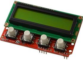 Фото 1/2 SHIELD-LCD16x2, Arduino совместимая плата с LCD16x2 и кнопками