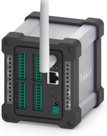 DS1004SK, Программируемый аналоговый сервер, 8 A/D inputs, 4 D/A outputs, 2 реле (1A/24VDC), 1хRS232/485