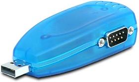 USB-2COM PL, 2-портовый преобразователь USB в RS-232