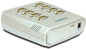 USB-8COM, 8-портовый преобразователь USB в RS-232