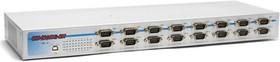 """Фото 1/3 USB-16COMi-RM, 16-портовый преобразователь USB в RS-232/422/485, с возможностью установки в 19"""" стойку"""