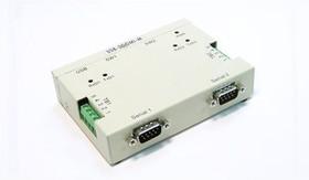 Фото 1/4 USB-2COMi-M, 2-портовый преобразователь USB в RS-422/485, крепление на DIN-рейку