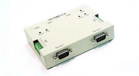 Фото 1/4 USB-2COMi-Si-M, 2-портовый преобразователь USB в RS-422/485 с гальванической изоляцией, крепление на DIN-рейку