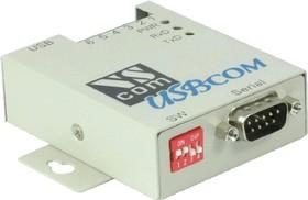USB-COMi-M, 1-портовый преобразователь USB в RS-232/422/485, крепление на DIN-рейку