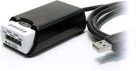 Фото 1/4 USB-COMi-TB, 1-портовый преобразователь USB в RS-422/485 (разъём 5-конт. терминальный блок)