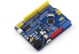 Фото 1/4 UNO PLUS, Программируемый контроллер на основе МК ATmega328 (аналог Arduino UNO)