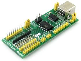 Фото 1/4 FT245 EVAL BOARD, Оценочная плата на базе FT245, высокопроизводительное решение для преобразования USB - FIFO(8-бит)
