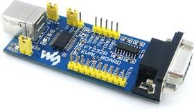 Фото 1/4 FT232 EVAL BOARD, Оценочная плата на базе FT232, высокопроизводительное решение для преобразования USB - UART