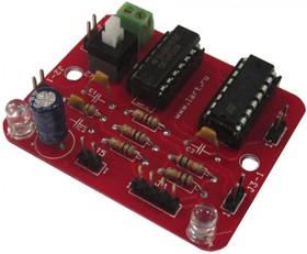 Фото 1/2 ЛМ2-130, Драйвер моторов для роботехники на базе L293D