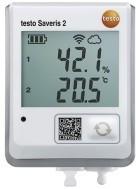 testo Saveris 2-H2, WI-FI логгер со встроенным разъемом для подключения зонда температуры/влажности