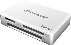 TS-RDF8W, USB 3.0 All-in-1 Multi Card Reader, White
