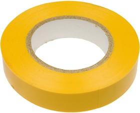 Изолента (15мм) желтая