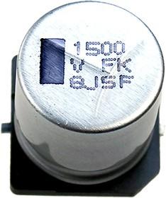 ЧИП электролит.конд. 1500мкф 35В 105гр, 16x16.5(J16),EEVFK1V152M