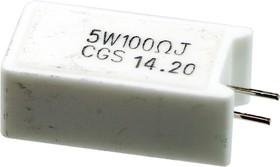 1623788-1 SQM 5W 100R 5% (WIRE) Power Resistor