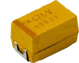 TECAP тант.чип конд. 47 мкф х 35В типE 10%,TAJE476K035RNJ