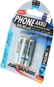 Фото 1/2 ANSMANN PHONE 5030142-RU AAA 800мАч maxE BL3, Аккумулятор