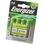 Energizer Recharge Universal АА 1300мАч BL4, Аккумулятор