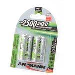 ANSMANN 5030912-RU maxE 2500мАч C BL2, Аккумулятор (упаковка из 2)