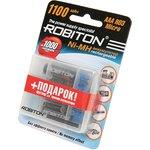 ROBITON 1100MHAAA-4/box BL4, Аккумулятор
