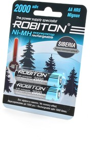 ROBITON SIBERIA 2000MHAA-2 низкотемпературные BL2, Аккумулятор