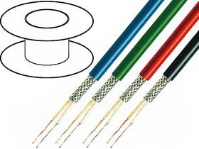 TAS-C128-BLACK-HF, Кабель микрофонный, 2x0,35мм2, OFC, LSZH, -15-70°C