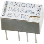 Фото 2/2 5-1462037-8 (IM43TS), Реле высокочастотное 5VDC DPDT 100мВт 2A