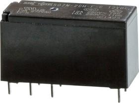 507N-2CH-F-C 12VDC (881-2CC-C 12VDC ), Реле 2пер. 12В/12А, 250V