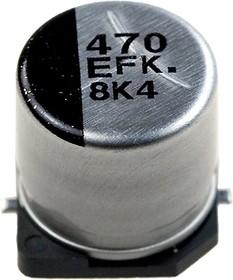 ЧИП электролит.конд. 470мкф 25В 105гр, 10x10.2(G) EEEFK1E471P