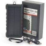 Фото 2/2 ROBITON POWER BANK LP-24-Solar Type-C 24000мАч, Универсальный внешний аккумулятор