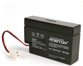 ROBITON VRLA12-0.8, Аккумулятор